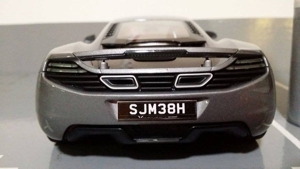 Singapore License Plate for Model Cars