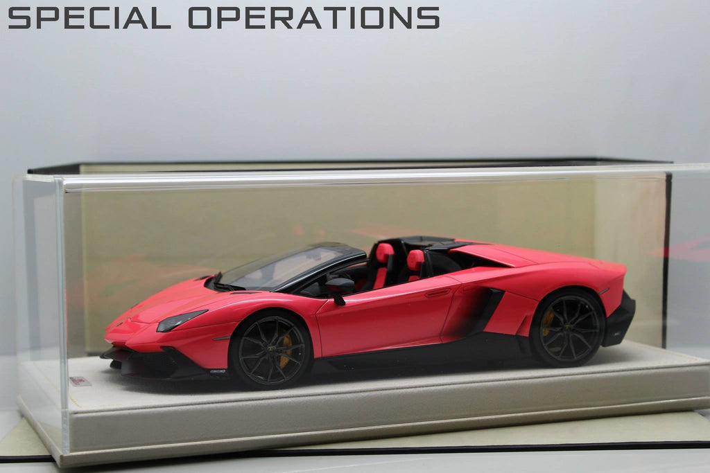 MR 1:18 Lamborghini Aventador LP720-4 50th Anni. Roadster