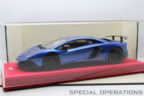MR Collection 1:18 Lamborghini Aventador LP750-4 SV (Exclusive to Special Operation Models 25 pcs)