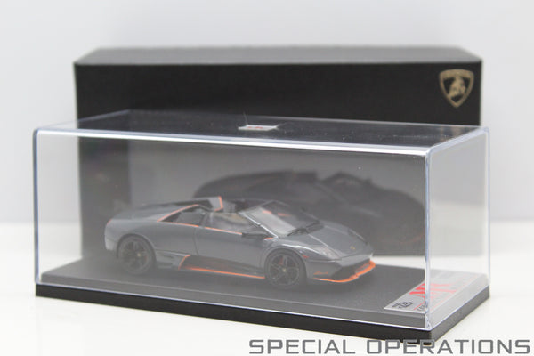 MR176 MR 1:43 Lamborghini Murcielago LP650-4 Roadster (Grigio Telesto/Orange)