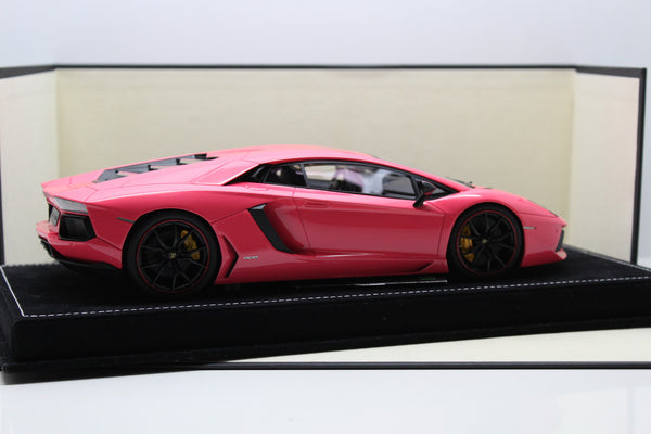 MR Collection Atelier 1:18 Lamborghini Aventador LP700-4 (Pink) ONEOFF