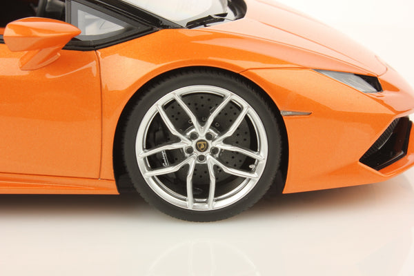 MR Collection 1:18 Lamborghini Huracan LP610-4 Spyder (Arancio Borealis)