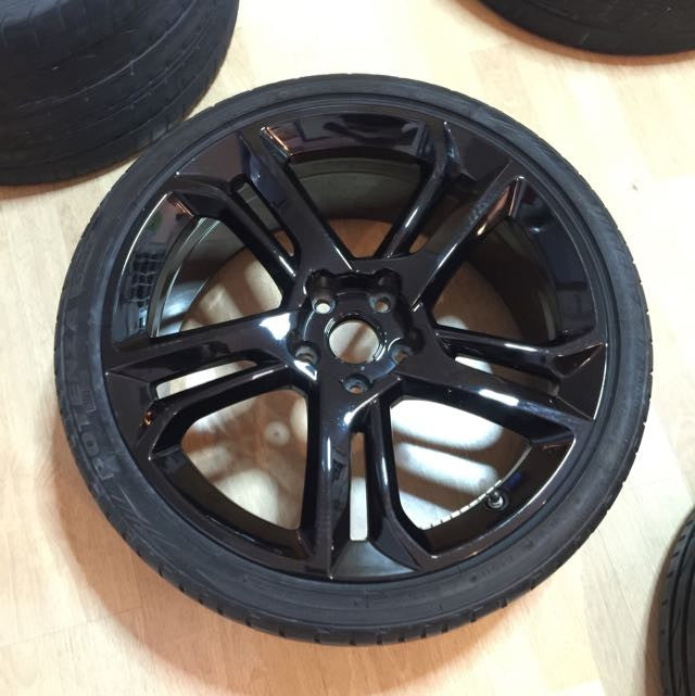 08' Lamborghini Gallardo LP560-4 's Apollo Rims (Set of 4) - Nero Noctus