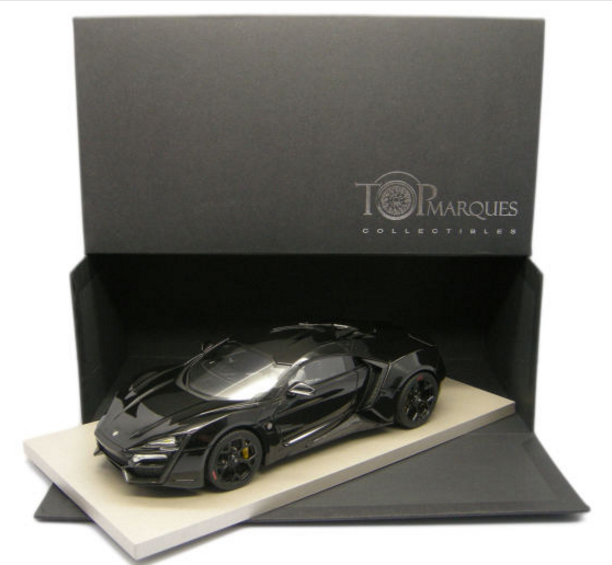 Top Marques 1/18 Lykan Hypersport (Black)