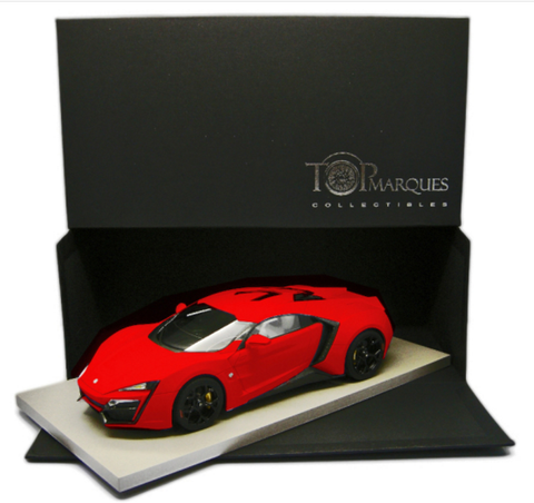 Top Marques 1/18 Lykan Hypersport (RED)