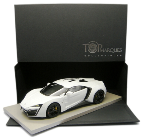 Top Marques 1/18 Lykan Hypersport (White)