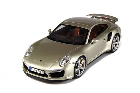 GT024 GT Spirit 1:18 Porsche 911(991) Turbo (Gold)