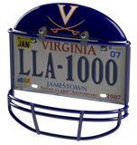 University of Virginia Cavaliers Helmet Frame