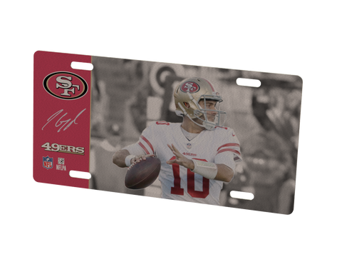 San Francisco 49ers Jimmy Garoppolo Metal Photo
