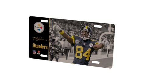 Pittsburgh Steelers Antonio Brown Metal Photo 2