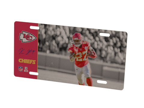 Kansas City Chiefs Kareem Hunt Metal Photo