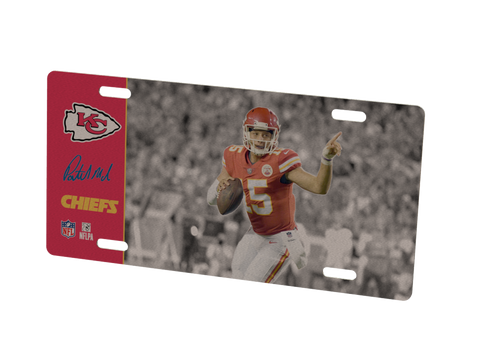 Kansas City Chiefs Patrick Mahomes Metal Photo