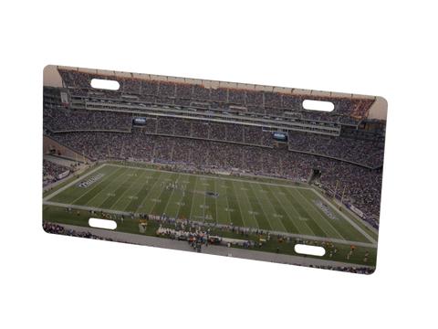 New England Patriots Stadium (Field) Metal Photo