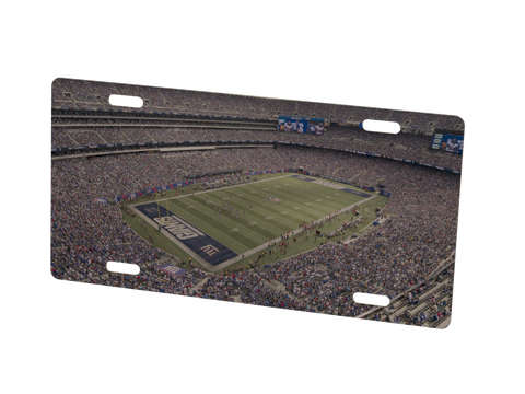 New York Giants Stadium Metal Photo