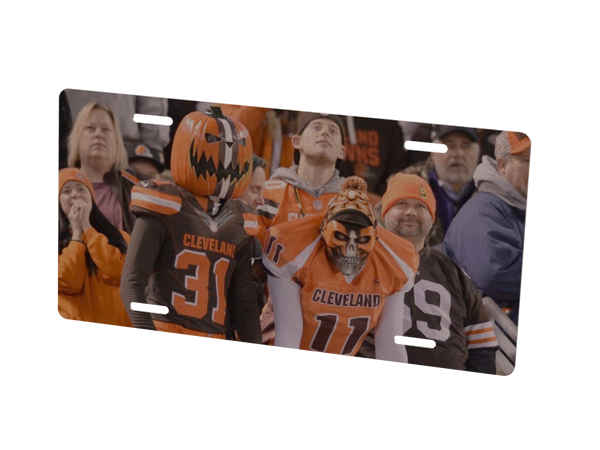 Cleveland Browns Custom Metal Photo