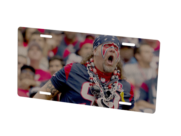Houston Texans Custom Metal Photo