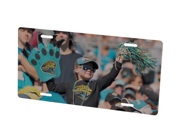 Jacksonville Jaguars Custom Metal Photo