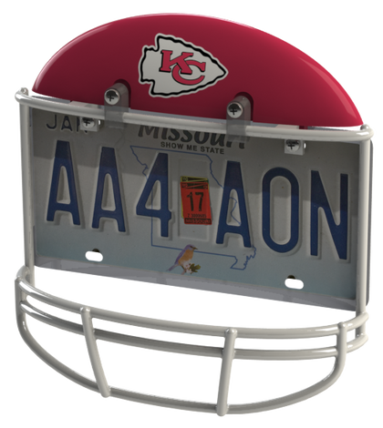 Kansas City Chiefs Helmet Frame