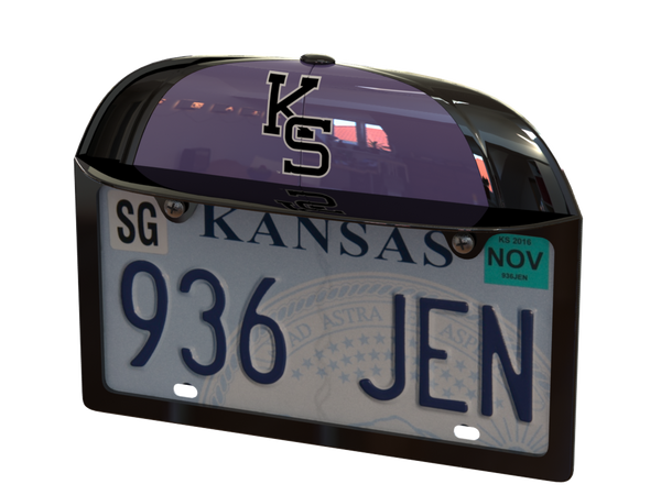 Kansas State University Two-Tone Baseball Cap Frame