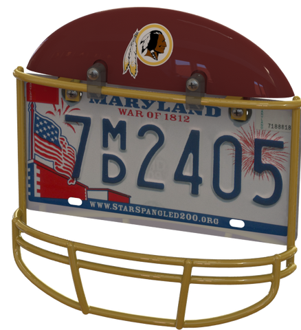 Washington Redskins Helmet Frame