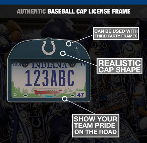 Indianapolis Colts Baseball Cap Frame – Frame Your Game