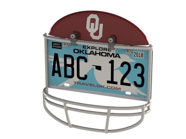 University of Oklahoma Helmet Frame