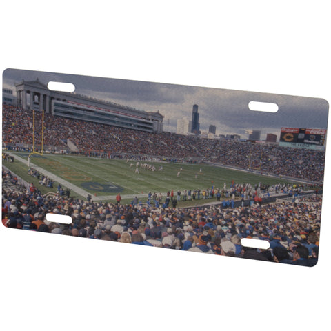 Chicago Bears Stadium Metal Photo