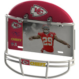 COMBO! - Kansas City Chiefs Helmet Frame + Eric Berry Metal Photo