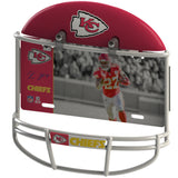 COMBO! - Kansas City Chiefs Helmet Frame + Kareem Hunt Metal Photo
