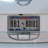 Dallas Cowboys Facemask License Plate Frame