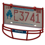 New England Patriots Facemask License Plate Frame