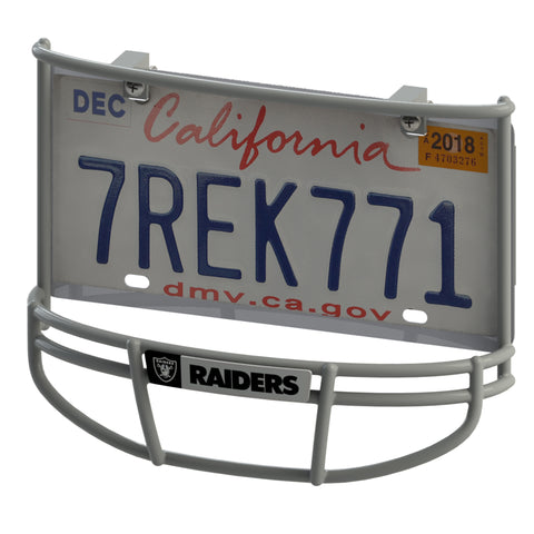 Oakland Raiders Facemask License Plate Frame