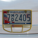 Washington Redskins Facemask License Plate Frame