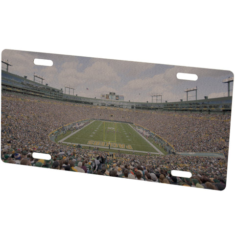 Green Bay Packers Stadium Metal Photo