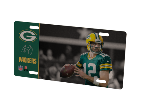 Green Bay Packers Aaron Rodgers Metal Photo 3