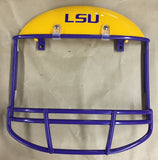 LSU - Louisiana State University Helmet  - can be used on the front or back of the car or as a photoframe