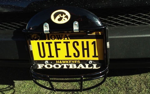 Iowa University Helmet Frame