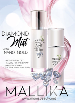Mallika Diamond Mist with Nano Gold Facial  Lift Spray 50 ml - 10-1-5864544