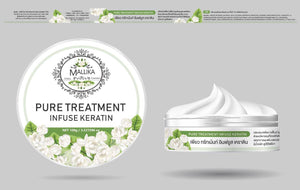 PURE HAIR TREATMENT infuse keratin