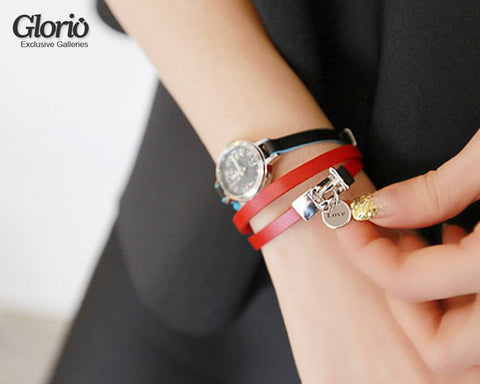 Bracelet - Model: Genuine Leather, Fine Quality Bracelet