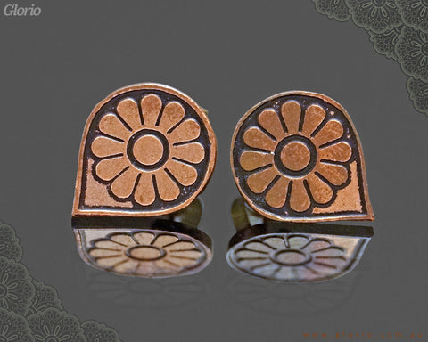 copper earring AMESTRIS