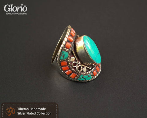 Ring - Model: Ring, Turquoise Light