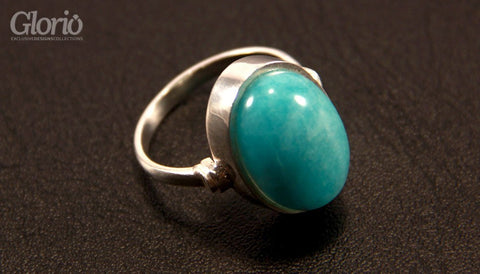Ring - Turquoise Tales - Natural Gemstone