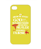 GOD MADE A NURSE - PHONE CASE
