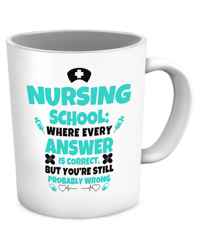 NURSING SCHOOL - MUG