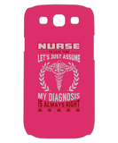 LET'S ASSUME - PHONE CASE