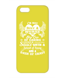 NOT JUST A NURSE - PHONE CASE