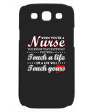TOUCH A LIFE- PHONE CASE