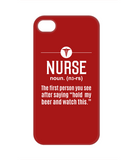 NURSE DEFINITION- PHONE CASE