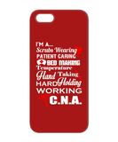 CNA RHYME RED - PHONE CASE